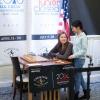Agata Bykovtsev, Carissa Yip, Round 9, U.S. Championship