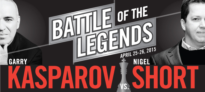Battle of the Legends: Kasparov vs. Short