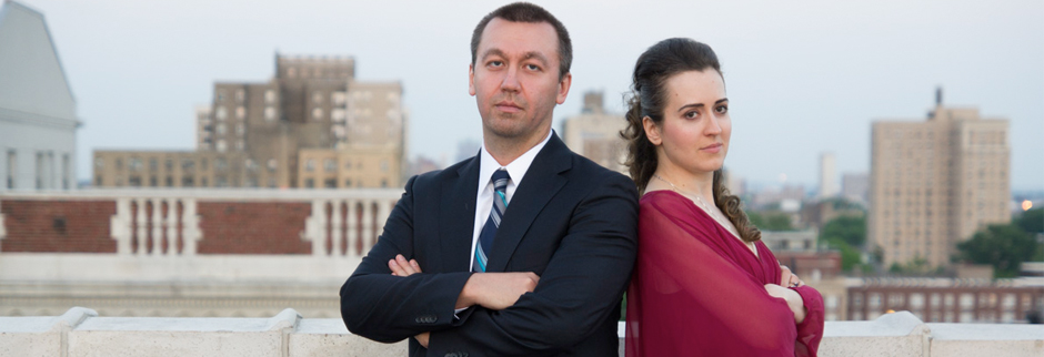 The defending champions, GM Gata Kamsky & GM Irina Krush