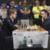 GM Magnus Carlsen, GM Fabiano Caruana