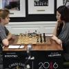 Alisa Melekhina, Ana Bykovtsev, Round 2, U.S. Championship