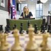 Nazi Paikidze  Round 6, U.S. Championship