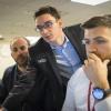 Lawrence Trent, Fabiano Caruana, Cristian Chirila,  Round 6, U.S. Championship