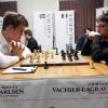 GM Magnus Carlsen, GM Maxime Vachier-Legrave